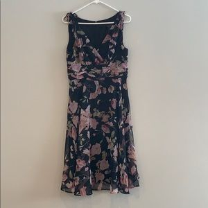 Connected Petite Floral Dress